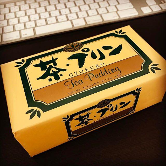 静岡みやげ、茶・プリンどうもありがとう